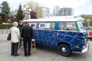 Stephen Courtin and his astro VW bus