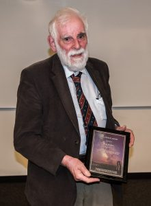 Dr. Alan Batten receives the RASC Fellowship Award