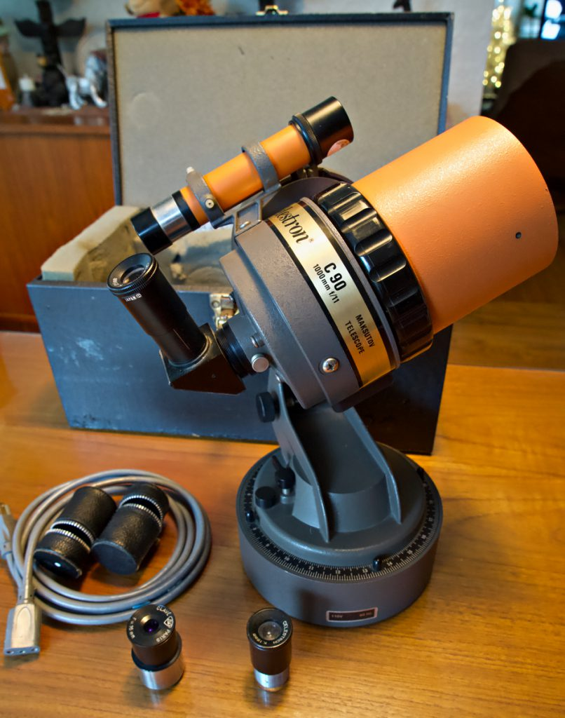Celestron C 90 Maksutov telescope (used, excellent optics)
