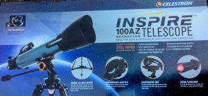 PRIZE - Celstron Inspire 100AZ telescope