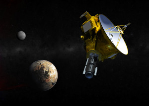 New Horizons approaching Pluto