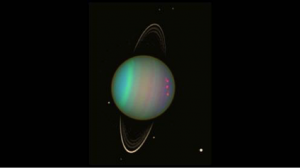 Uranus - discovered by William Herschel